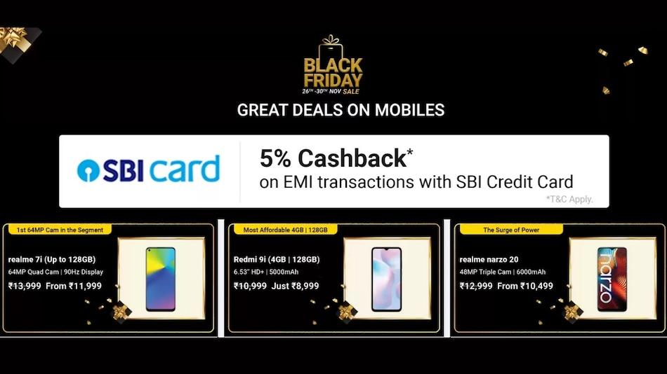 Flipkart Black Friday Sale Brings Discounts on Apple, Samsung, Xiaomi, More Phones