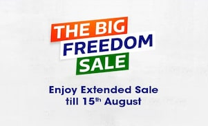 Flipkart Big Freedom Sale 2018: Independence Day Offers, Deals & Discount