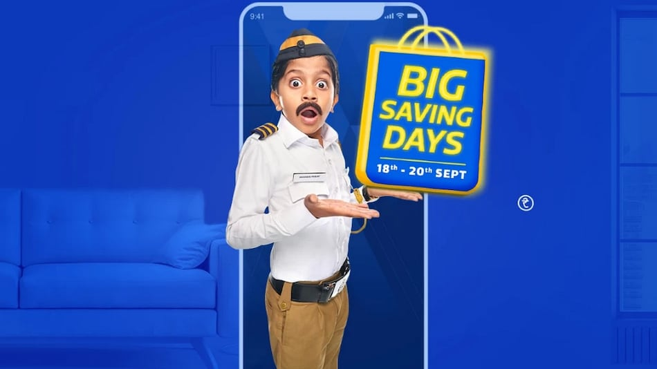 Flipkart Big Saving Days Kicks Off From September 18, Lets You Pre-Book Items at Re. 1