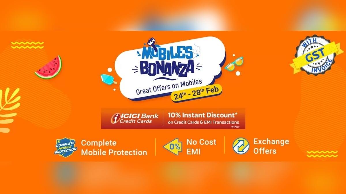 Flipkart Mobiles Bonanza Is Underway With Exciting Discounts on Apple, Realme, Samsung, Xiaomi, More Brands