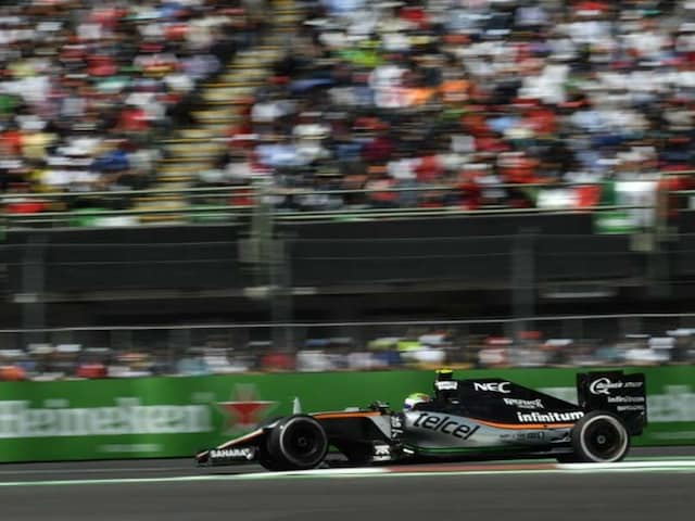 Mexican GP: Seven Points Strengthen Force Indias Fourth Position