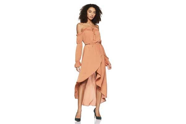 Forever 21 Women A Line Maxi Dress 1556779879400