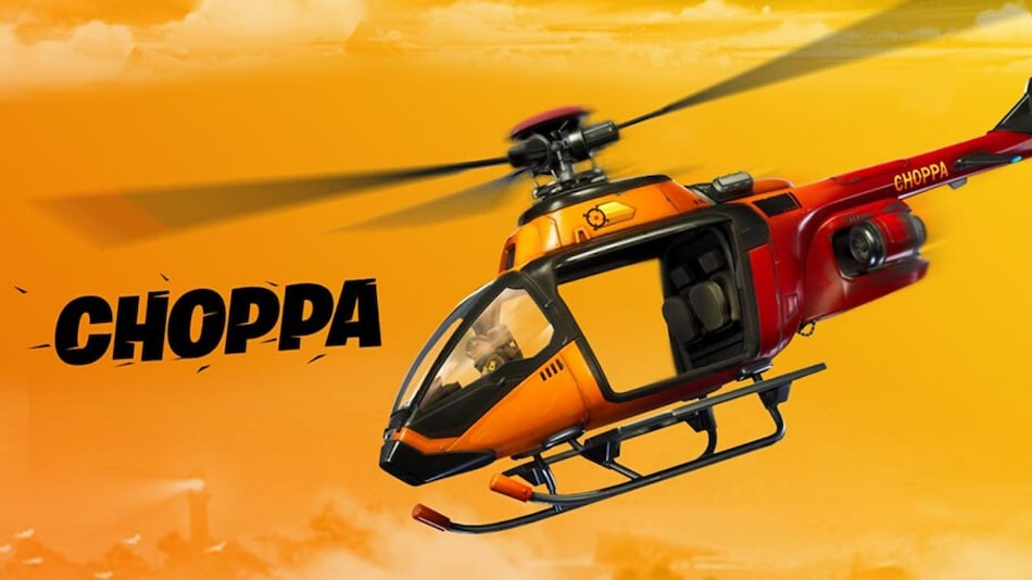 Fortnite v12.20 Update Brings Helicopters to the Game, Called 'Choppas'
