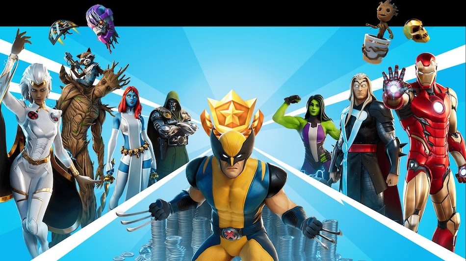 Fortnite Chapter 2 Season 4 Nexus War Commences, Play as Iron Man, Doctor Doom, Storm, and More Marvel Superheroes