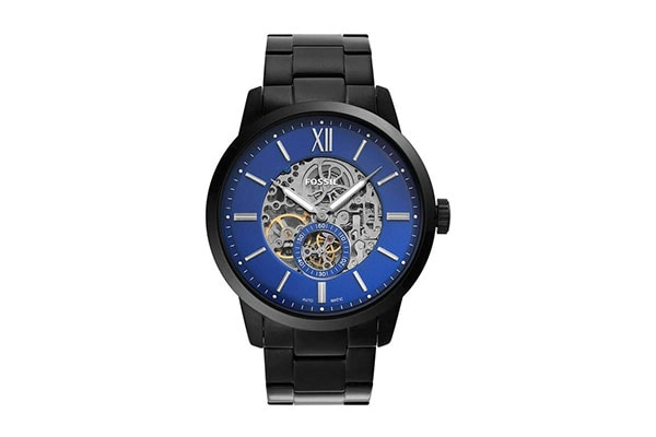 Fossil Analog Blue Dial Mens Watch ME3182 1613401687108