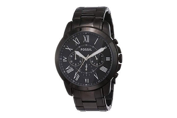 Fossil Grant Chronograph Analog Black Dial Mens Watch FS4832 1613401359085