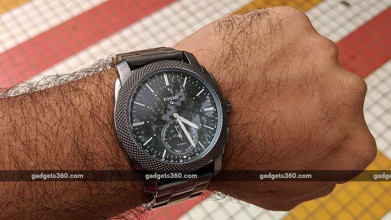 Fossil Q Machine Hybrid Watch Review | NDTV Gadgets360 com