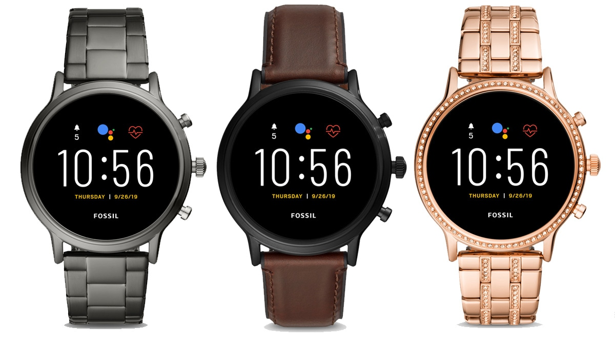 Fossil Gen 5 Wear OS Smartwatch With Built-In Speaker, Extended Battery Life Launched