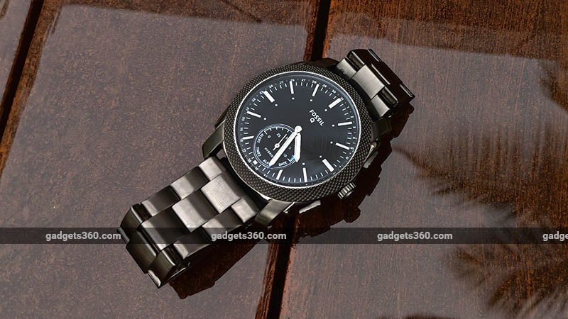 Fossil Q Machine Hybrid Watch Review Ndtv Gadgets360 Com