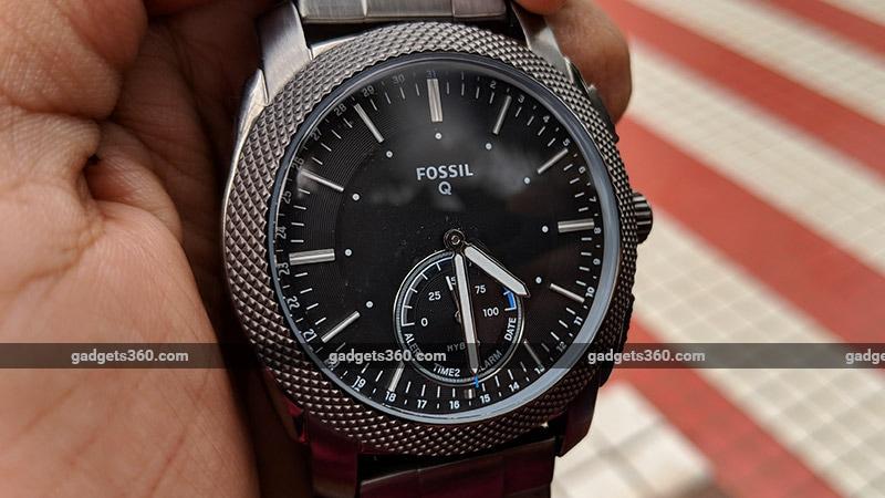 Fossil Q Machine Dial Fossil Q Machine Hybrid Watch Review