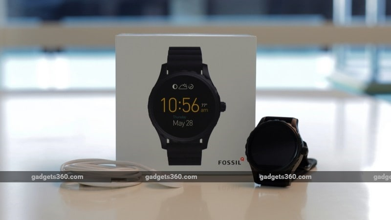 Fossil Q Marshal Review | NDTV Gadgets360.com
