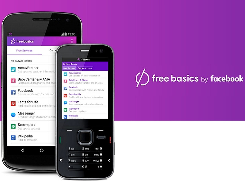 Facebook Free Basics Accused of Collecting Metadata, Violating Net Neutrality