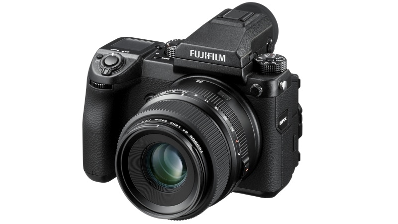 Fujifilm GFX 50S Medium Format Camera to Start Shipping in February for $6,500