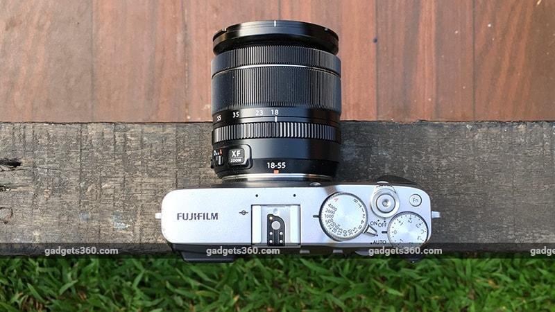 Fujifilm X E3 top ndtv Fujifilm