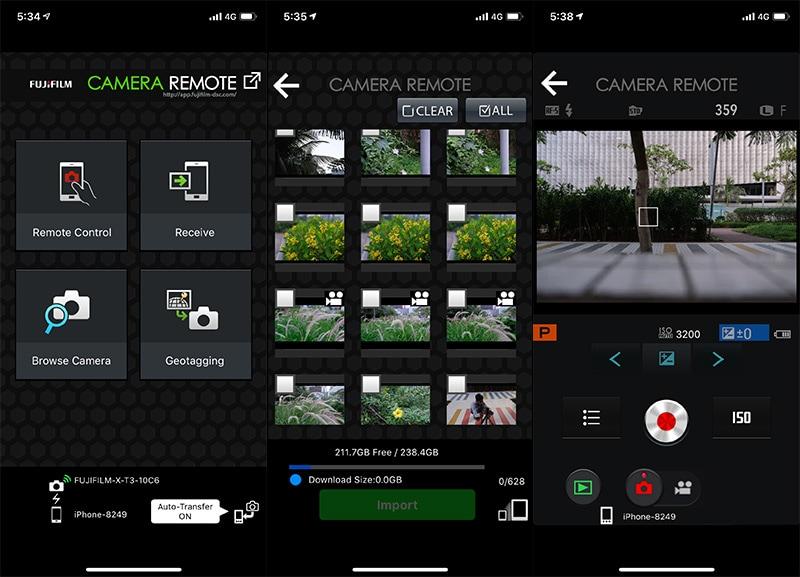 Fujifilm X T3 app ndtv Fujifilm