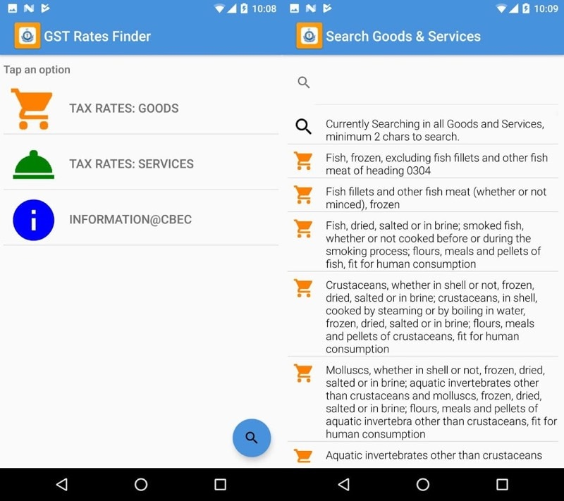GST Rates Finder App Launched to Help You Verify Correctness of GST Charged