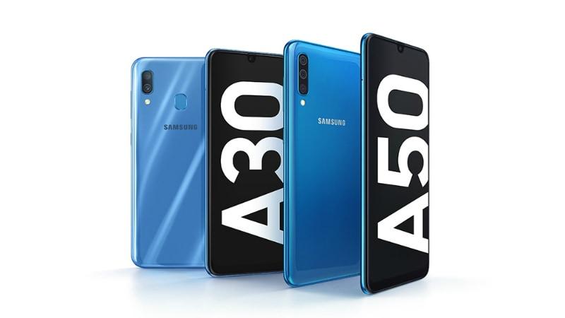Samsung Galaxy A30 और Galaxy A50 भारत में 28 फरवरी को हो सकते हैं लॉन्च