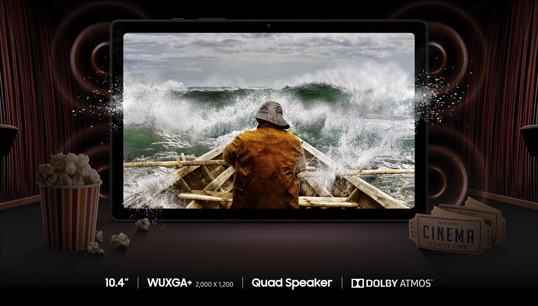 Galaxy Tab A7 B2C SoundDisplay LTE PC display