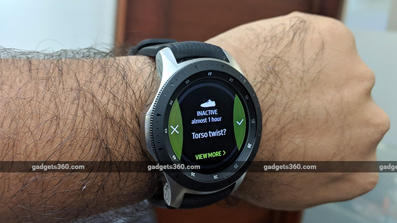 Galaxy Watch Torso Samsung Galaxy Watch Review