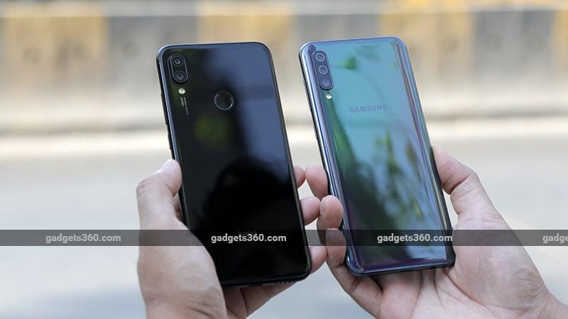 GalaxyA50vsRedmiNote7ProBack3 Redmi Note 7 Pro vs Samsung A50