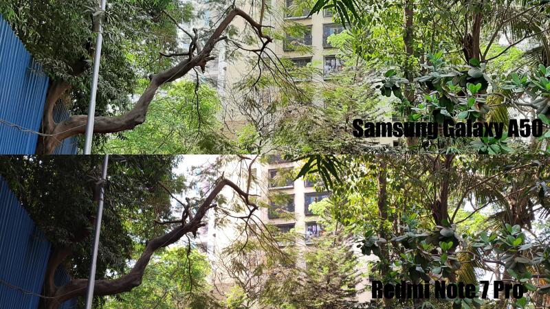 GalaxyA50vsRedmiNote7ProDaylight Redmi Note 7 Pro vs Samsung A50