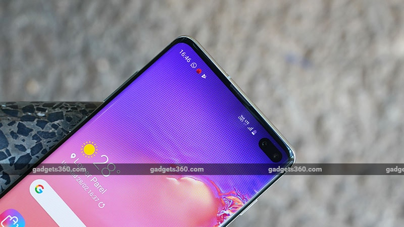 GalaxyS10PlusInfinityO Samsung Galaxy S10  Review