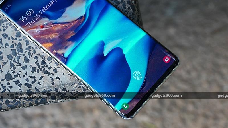 GalaxyS10PlusinFingerprintScanner Samsung Galaxy S10  Review
