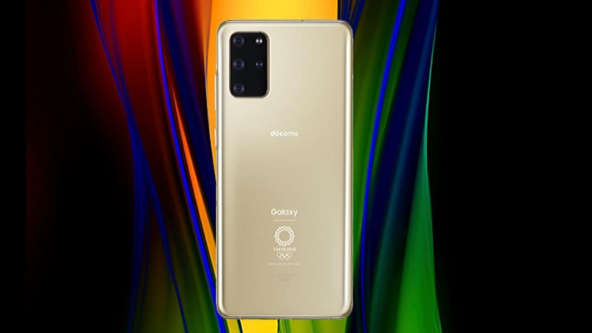 Samsung Galaxy S20+ 5G Olympic Edition With Matte Gold Colour Launched: Price, Specifications