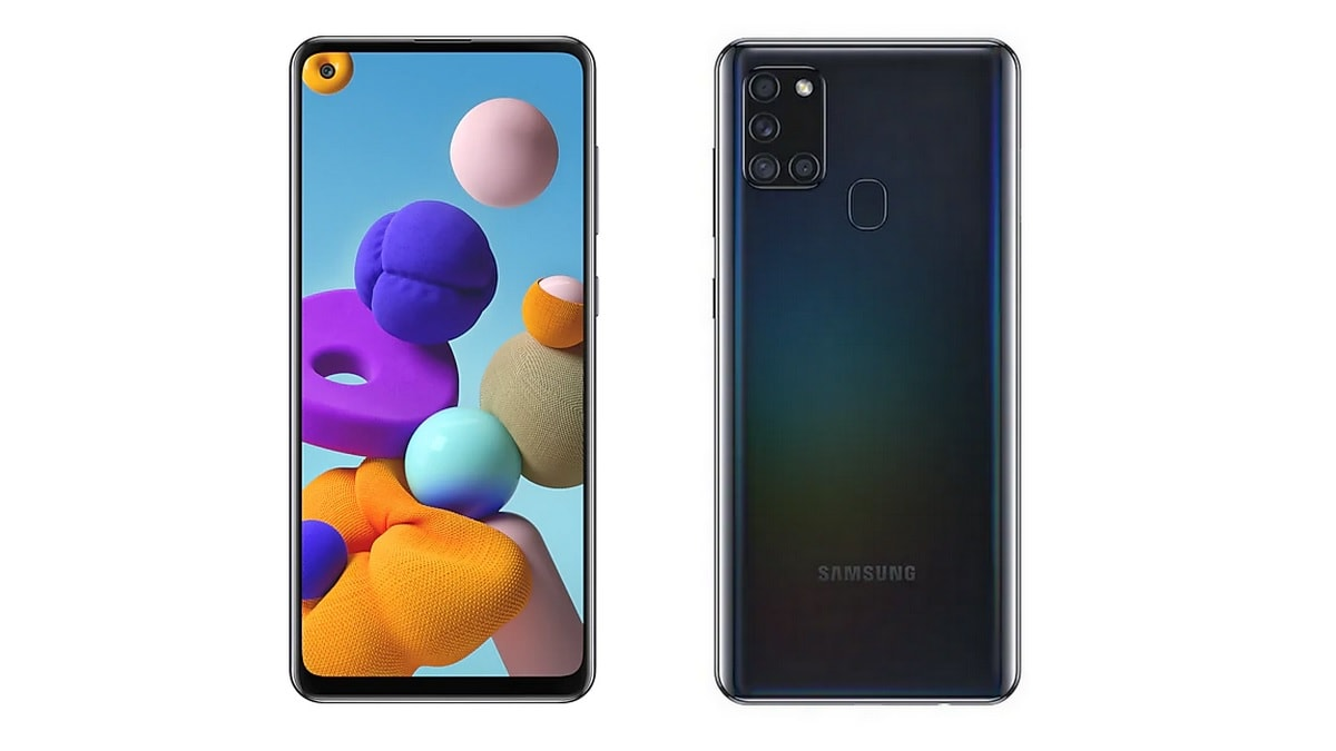 Samsung launches Galaxy A21s in India
