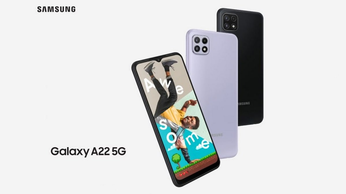 Samsung Galaxy F22 Could Launch as Rebranded Galaxy A22