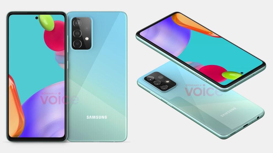 Samsung Galaxy A52 5G में मिल सकता है Galaxy A51 जैसा डिज़ाइन, रेंडर लीक
