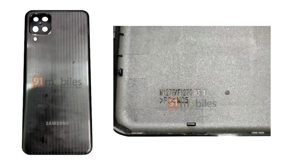 Samsung Galaxy F12 / Galaxy M12 का बैक पैनल लीक, बैटरी की भी मिली जानकारी