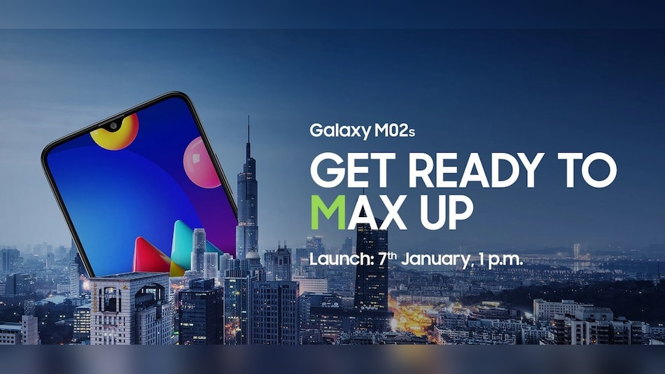 Samsung Galaxy M02s Scheduled to Launch on January 7, Priced Under Rs. 10,000