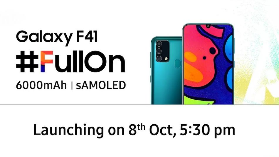 Samsung Galaxy F41 to Feature 64-Megapixel Triple Rear Camera Setup