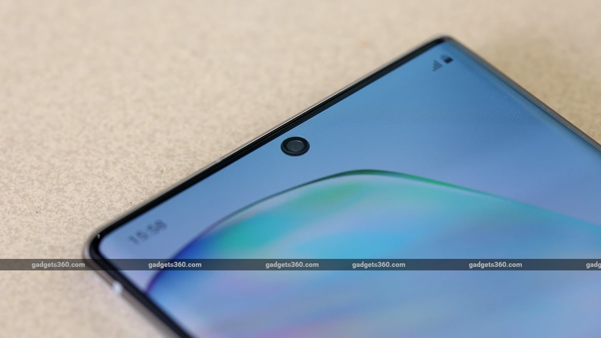Galaxy Note 10 Plus Camera Hole Punch Samsung Galaxy Note 10  Review