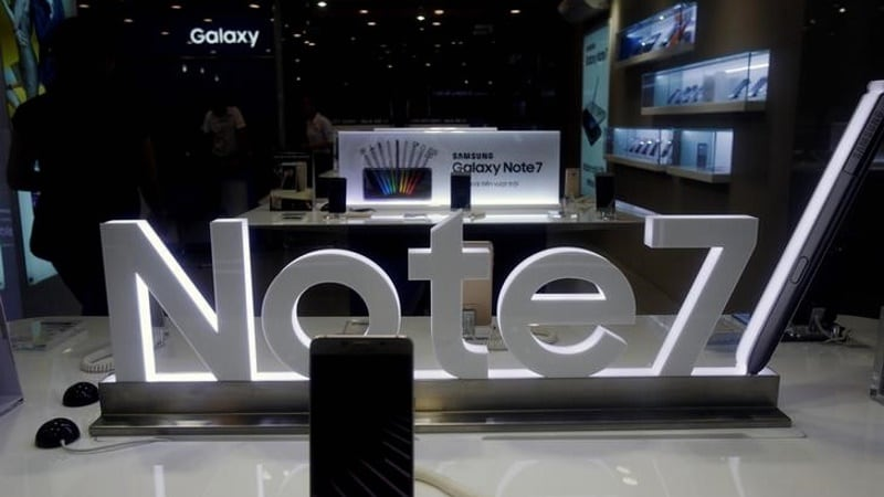 Samsung's Galaxy Note 7 Woes Highlight Explosive Limits of Lithium Batteries