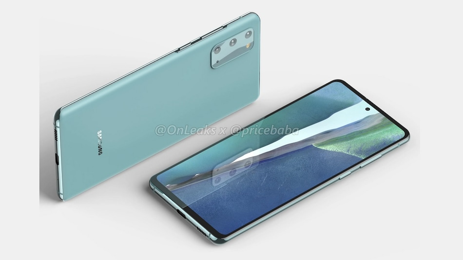 Samsung Galaxy S20 FE 5G Alleged Renders Show Triple Rear Cameras, Hole-Punch Design, Flat Screen