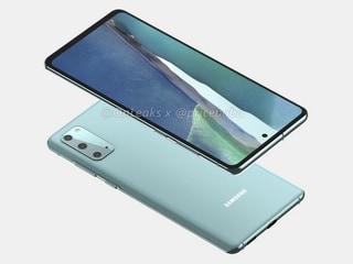 Samsung Galaxy S20 FE 5G Alleged Renders Show Triple Rear Cameras, Hole-Punch Design, Flat Screen