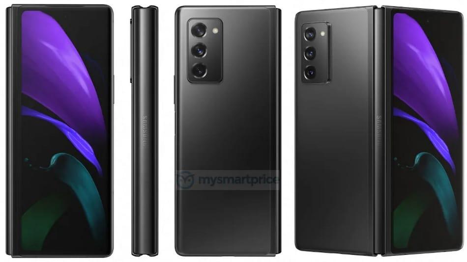 Samsung Galaxy Z Fold 2 5G Render Hints at Bigger Outer Display, Hole-Punch Camera Design