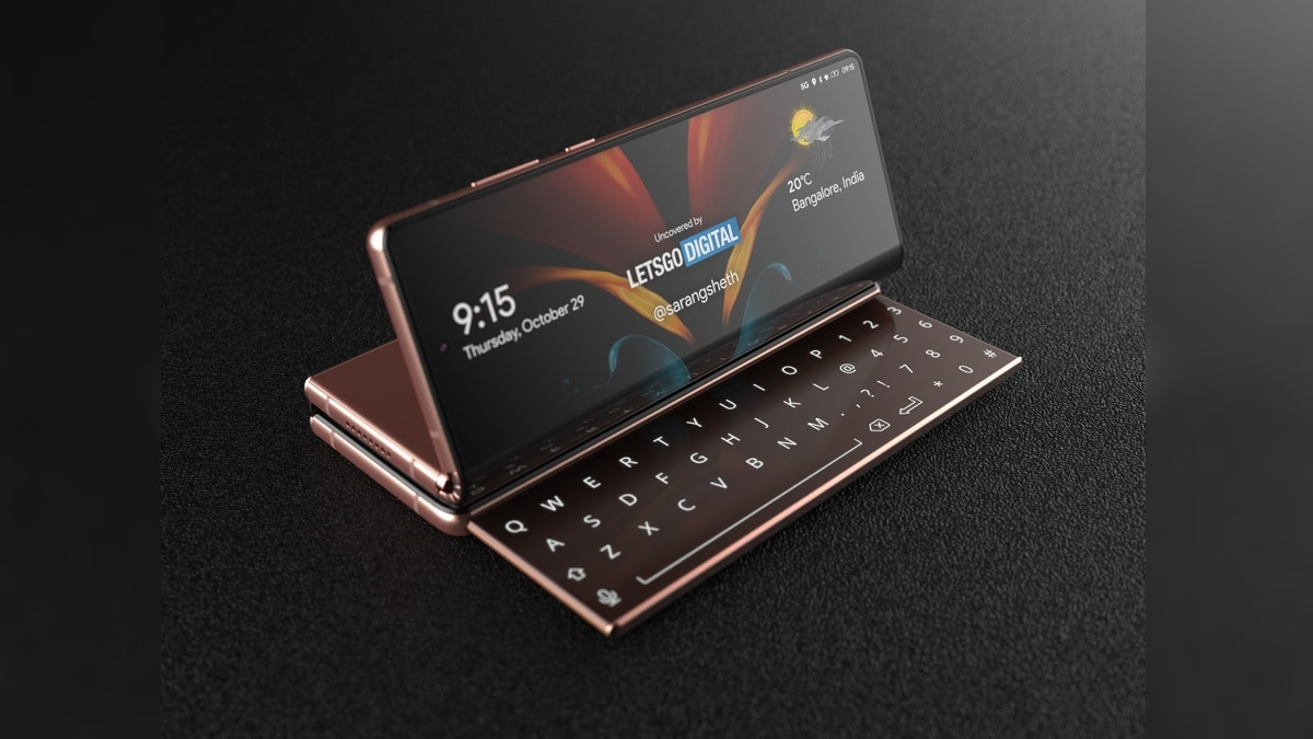 Samsung Galaxy Z Fold 3 Tipped to Come With Two Hinges, Three Folding  Screens, Sliding Keyboard | Technology News
