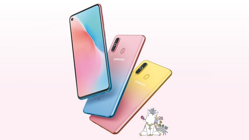 Samsung Galaxy A8s Gets Two New Colour Variants in China