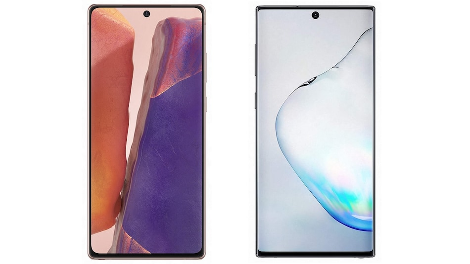 Samsung Galaxy Note 20 vs Samsung Galaxy Note 10: Price in India, Specifications Compared