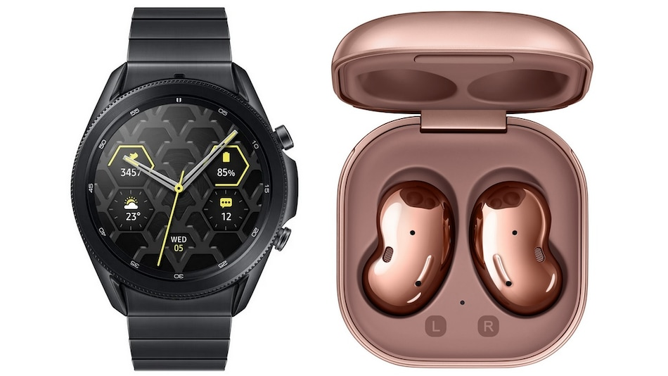 Samsung Galaxy Watch 3, Samsung Galaxy Buds Live Launched in India