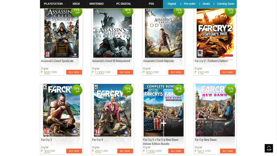 Assassin's Creed, Far Cry, Other PC Titles Get Up to 80 Percent Discount With Games The Shop Valentine's Sale