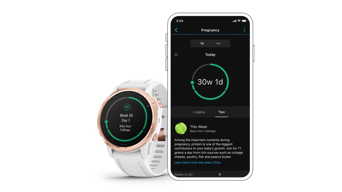 Garmin Brings Pregnancy Tracking to Its Wearables, Offers Kegel Reminders and Weight Gain Recommendations