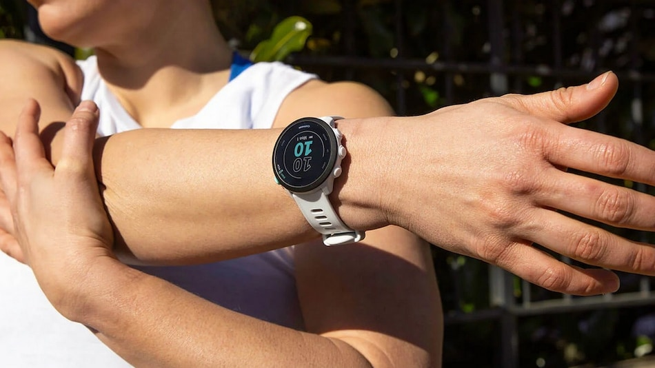 Garmin Forerunner 55 With GPS, 5 ATM Water Resistance, Activity Tracking Launched in India