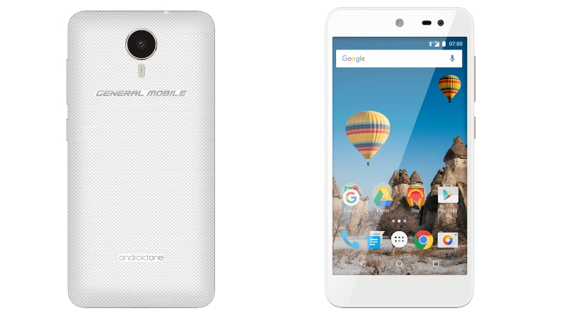 General Mobile GM5 Android One Smartphone With Android 7.0 Nougat Launched