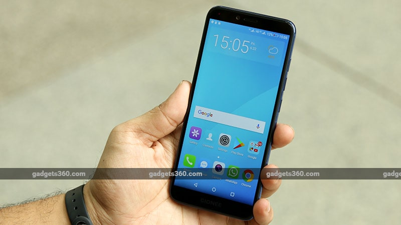 Gionee S11 Lite Screen Gionee S11 Lite Review