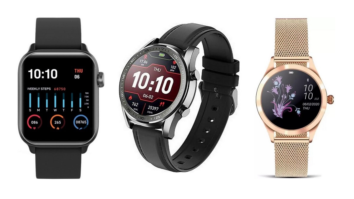 Gionee Watch 4 and 5, and Senorita With IP68 Rating, Heart Rate Monitoring Launched in India