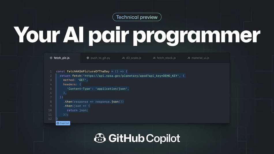 GitHub Copilot That Helps You Code Better With Suggestions for Whole Lines or Entire Functions Launched